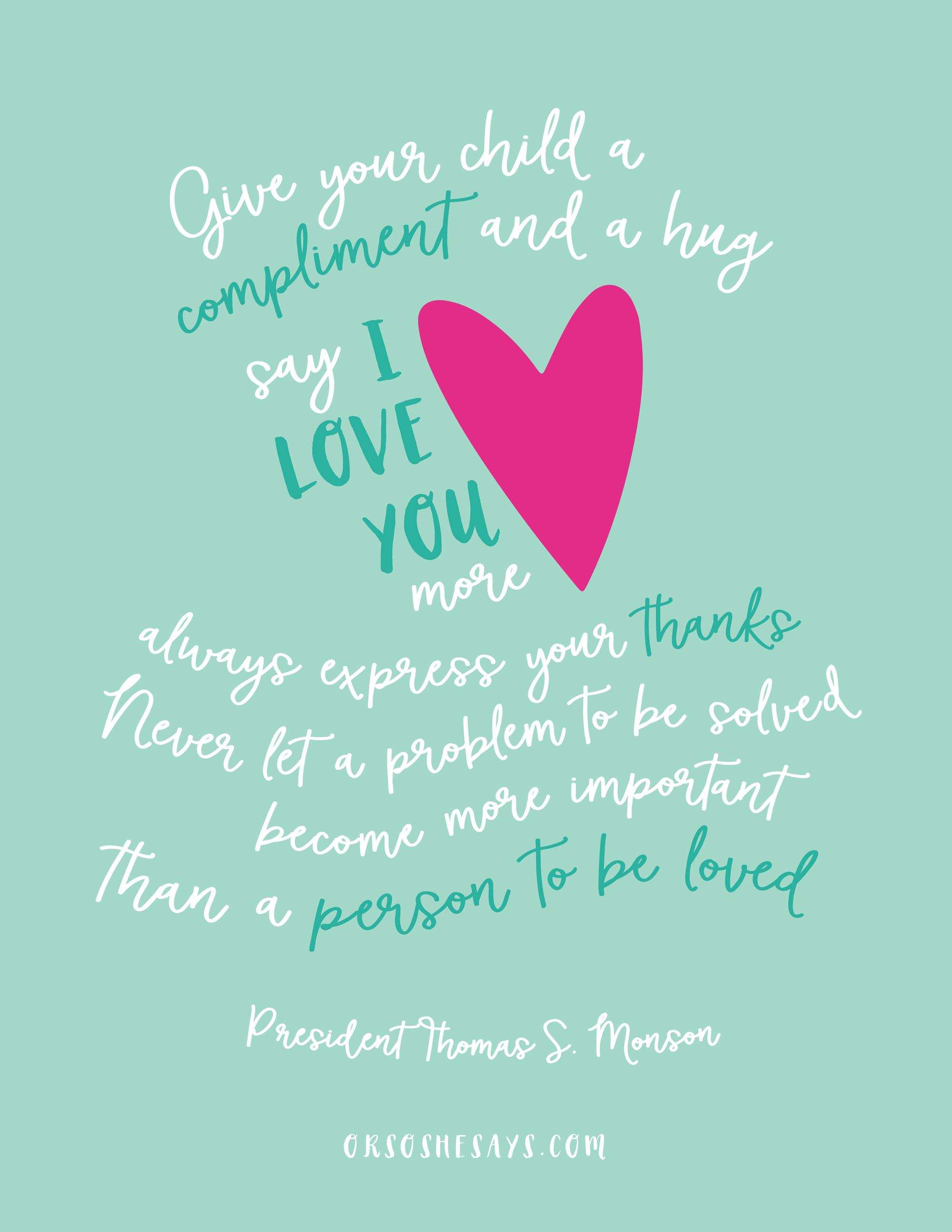 September 2016 Visiting Teaching Message – A Beautiful Free Printable! (she: Jeri)