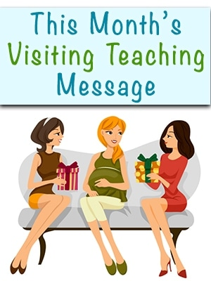 August 2016 Visiting Teaching Printable (she: Jeri)