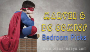16 AWESOME Marvel and DC Comics Bedroom Picks ~ She Picks!