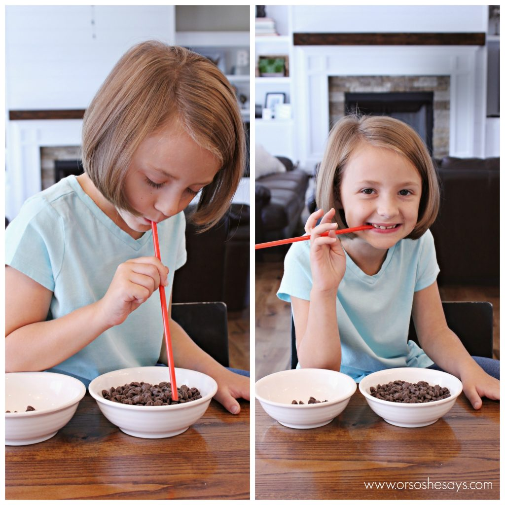 A fun Family Night idea that uses chocolate to teach families how to be strong!