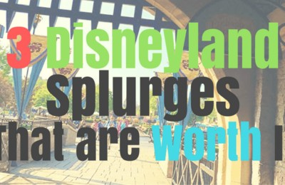 Disneyland doesn't have to be too expensive for your family! Check out this list of Disneyland splurges that are worth it, plus two that AREN'T. See it all on www.orsoshesays.com.