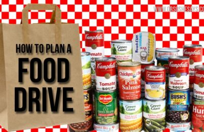 It's the time of year to start thinking of giving! Today Rachel has some insight on how to plan a food drive, and it's perfect to get the whole family involved in a good cause. Read all about it at www.orsoshesays.com.