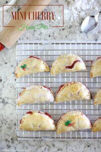 Mini Cherry Pie Recipe ~ Bite Sized Fun! (she: Liz)