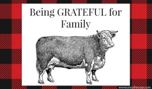 A simple Family Night lesson on being grateful for our families! A yummy recipe and free printable too!