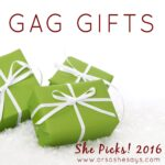 Gag Gifts for White Elephant Parties ~ She Picks! 2016