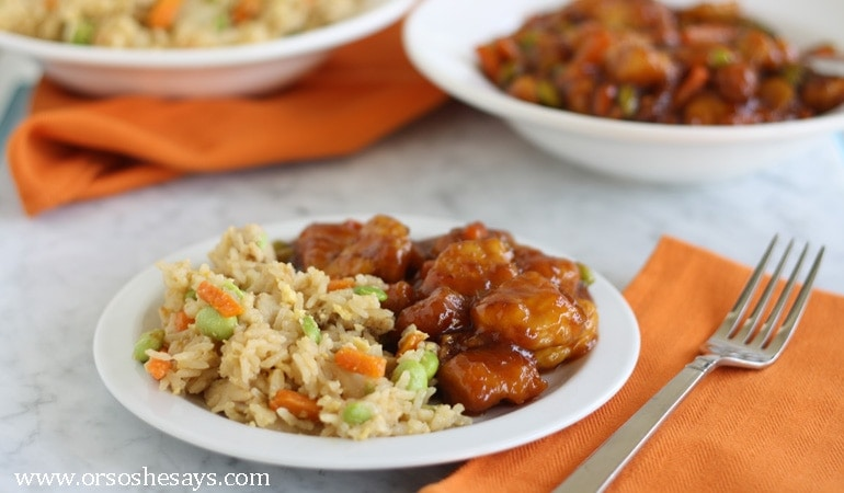 Who doesn't love the idea of easy family meals? Get dinner on the table in minutes with PF Chang's Home Menu family size meals. Check them out on the blog today www.orsoshesays.com.