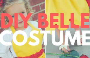 DIY Belle Costume – Just in Time for the Beauty and the Beast Release! (she: Adelle)