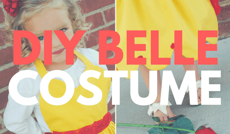 Just in time for the Beauty and the Beast release, Adelle is here to share a DIY Belle costume! Get the step-by-step instructions on www.orsoshesays.com.