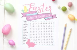 Easter Word Search – A Free Printable Perfect for All Ages (she: Liz)