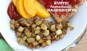Rustic Homemade Hashbrowns (she: Leesh & Lu)