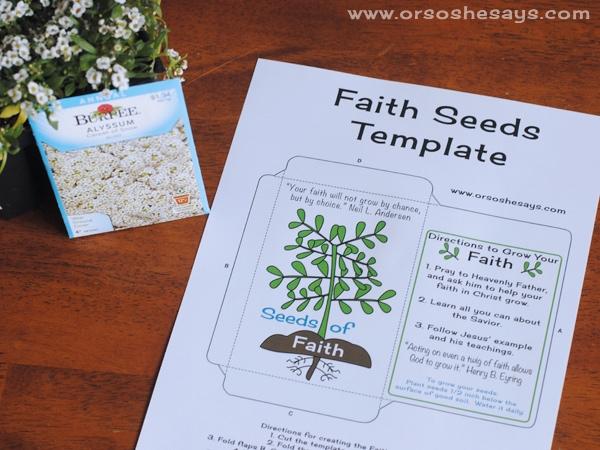 faith activity