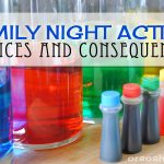 Family Night Idea – Choices & Consequences: Color Experiment Activity (she: Adelle)
