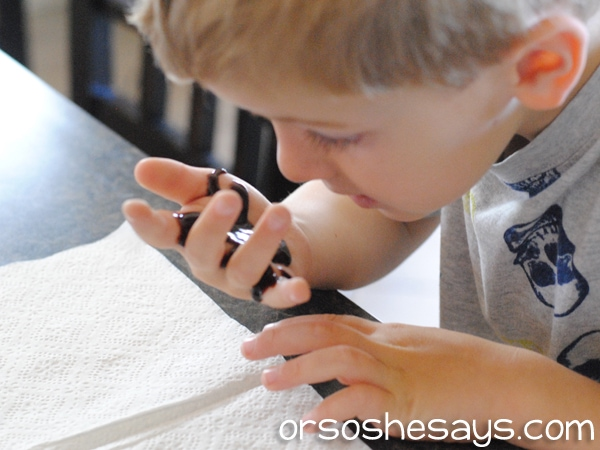 Today's messy Family Night Lesson is all about Icky Sticky Lies. Combine a fun and sweet object lesson with a few hard truths about the ugly effects of lies. Teach your family about dishonesty in a way that will STICK with them for a long time! Get all the lesson info at www.orsoshesays.com.