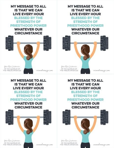 June 2017 Visiting Teaching Message - Get the free printable at www.orsoshesays.com
