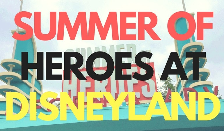 Summer of Heroes at Disney California Adventure Park is not to be missed. Ride Guardians of the Galaxy - Mission: BREAKOUT! and so much more! Get all the Disney info at www.orsoshesays.com today.