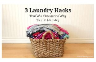 Laundry. Ugh. Is there any other chore that conjures up feelings of riding on the perpetual carousel – around, and around and around, always moving, never making any progress toward an end? Get some hacks today on the blog to change the way you do laundry! www.orsoshesays.com