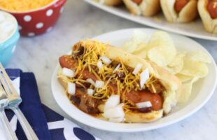 "Chili Dogs – Perfect for Tailgating or ""Home""-gating! (she: Liz)"