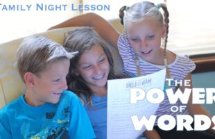 The Power of Words – Family Night Lesson on Language (she: Adelle)