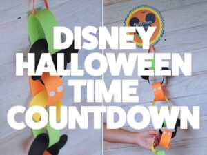 FREE Disney Halloween Time Countdown Chain (she: Adelle)