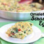 Omelette-Style Scrambled Eggs (she: Leesh and Lu)