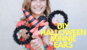 These adorable Minnie ears are sure to dress up your Halloween look with a bit of Disney magic. The best part is, you don't have to sew a single stitch. This costume accessory is so easy you'll scream with excitement! www.orsoshesays.com