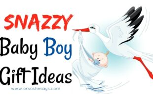 I love these baby boy gift ideas!