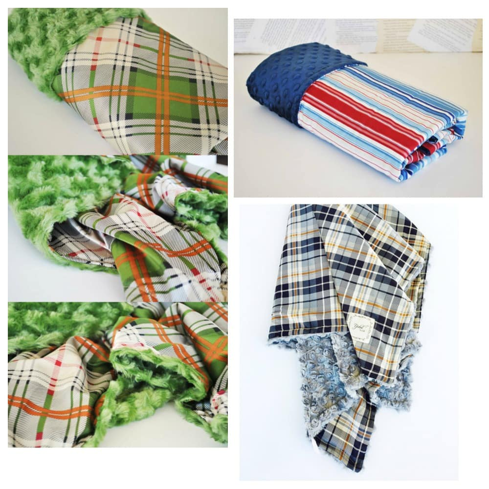 These are the BEST baby blankets! I've used them for all 7 of my babes! ~ Gifts for Baby Boys