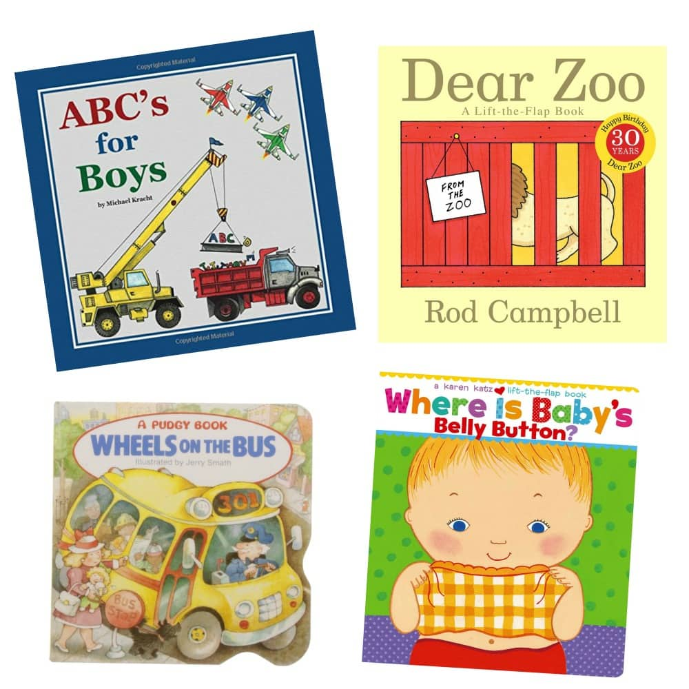 I need these books for my little guy! ~ Gift ides for baby boys #gifts #babyboy