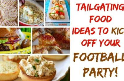 This is an AWESOME collection of tailgating food ideas, that would make any football party rock!!! #tailgating #recipes #football