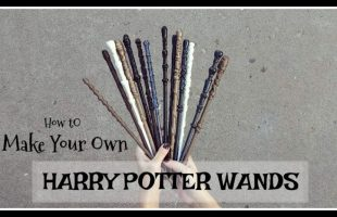 I thought I'd share with all of you how to make these Harry Potter inspired wands. They are super fun and easy to make, and the the kids can help! Get the details on the blog: www.orsoshesays.com