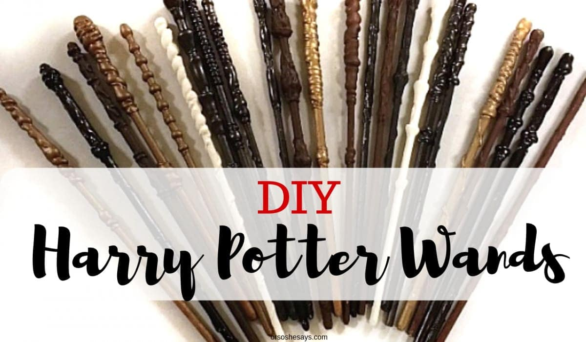 Harry Potter Inspired Your OwnsheElise Wands Make 7gY6bfy