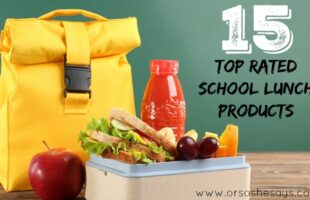 15 Top Rated School Lunch Products ~ #schoollunch #education #parenting