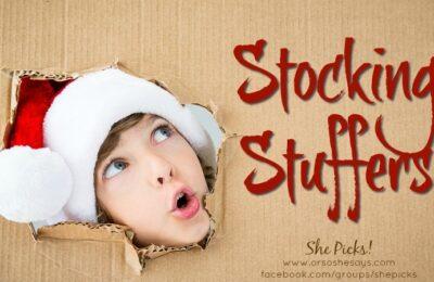Stocking Stuffers ~ She Picks! 2017 #shepicks