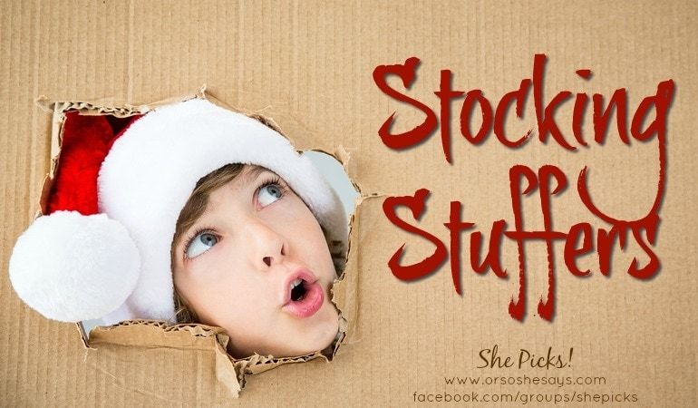 Stocking Stuffers ~ She Picks! 2017 #shepicks