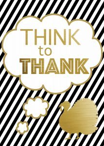 Gratitude Family Night – Think To Thank (she: Adelle)