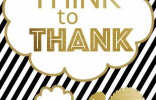 November is a month of gratitude. Gratitude is an important lesson and one that cannot be overdone. Unlike a turkey. Those tasty birds can definitely dry out if left in the oven too long! Get the Think to Thank lesson at www.orsoshesays.com.