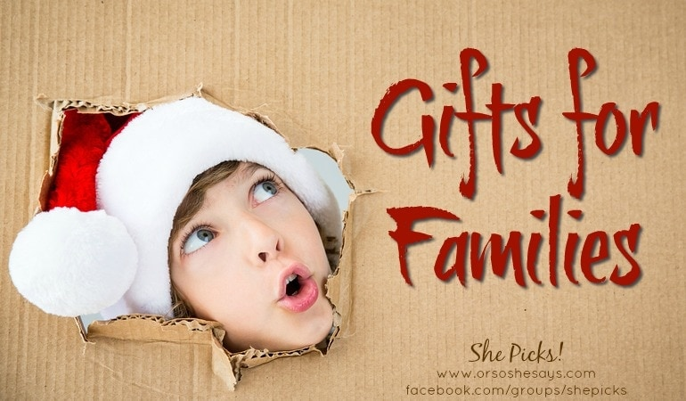 Gifts for Families ~ She Picks! 2017 Gift Guide #shepicks