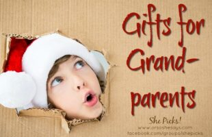 Gifts for Grandparents ~ She Picks! 2017 #shepicks