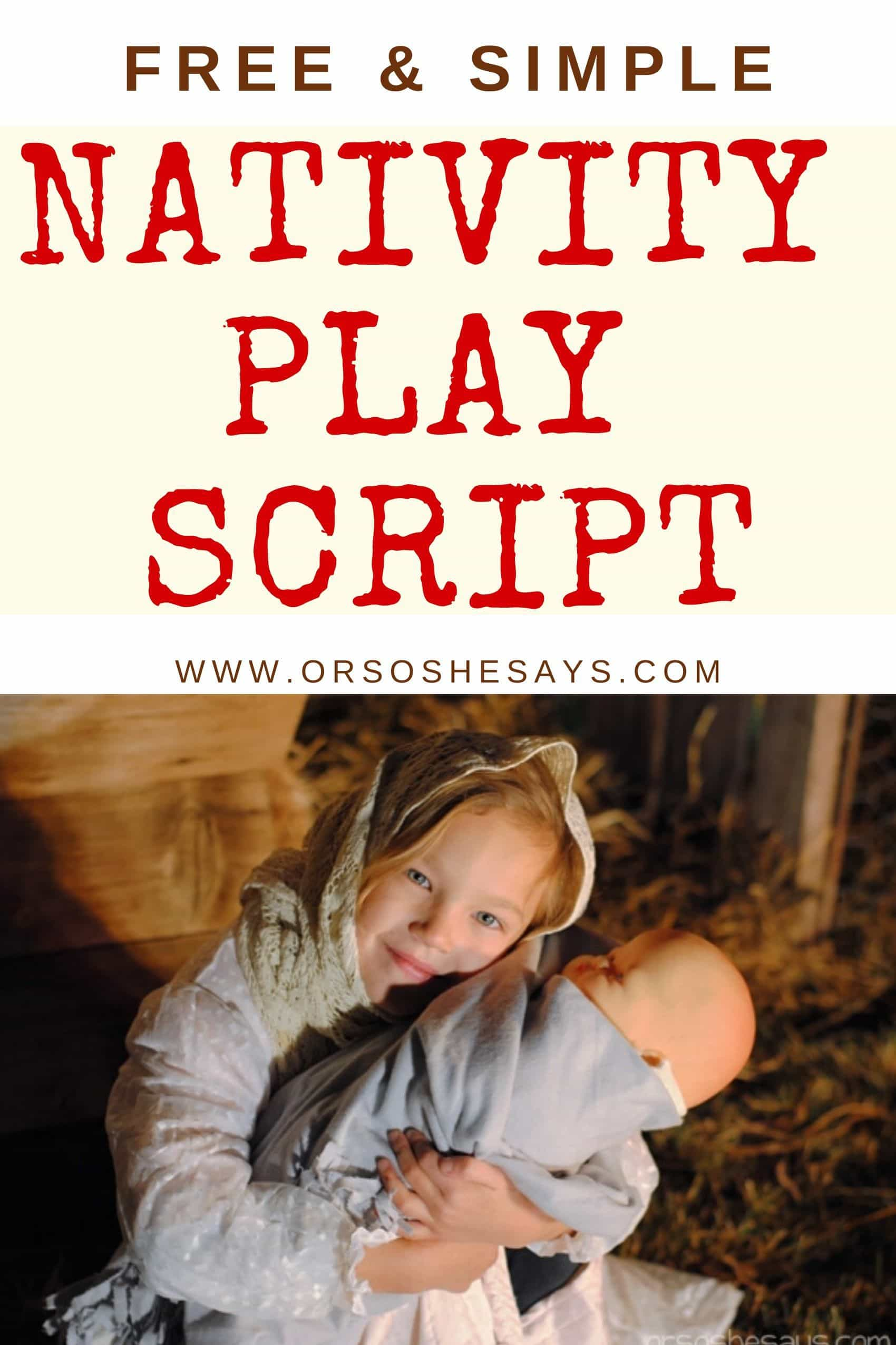 Nativity Play Script
