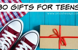 30 Gift Ideas for Teenagers