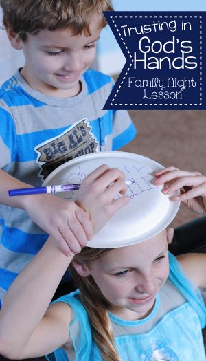 God's hands are always reaching out for us. He loves us. He cares for us. This family night lesson will literally help illustrate that point! Get all the details on the blog: www.orsoshesays.com
