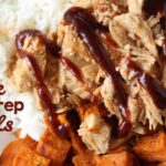Meal Prep Bowls – Pork and Sweet Potato (she: Leesh & Lu)