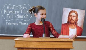 If you have children old enough to give talks in church, then check out the printable primary talks Adelle has prepared for February! www.orsoshesays.com