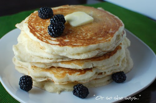 My Favorite Buttermilk Pancakes!
