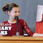 Printable Primary Talks about Jesus (she: Adelle)
