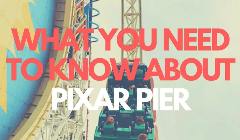 Pixar Pier will not only include new attractions, but new dining experiences and character meet and greets as well. Get all the info at www.orsoshesays.com.