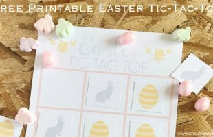 Easter Tic-Tac-Toe Game ~ Free Printable (she: Brooke)