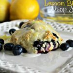 Lemon Blueberry Drop Scones ~ Super EASY Recipe! (she: Jana)