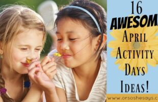 Activity Days Ideas ~ 16 Awesome Activities for Pre-Teen Girls
