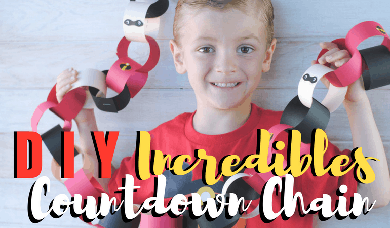 "If you're looking to make your next Disney vacation even more ""super"", you'll want to be sure to check out the Incredibles movie countdown chain in today's post. With Pixar Fest in full-swing at the Disneyland Resort, you'll be able to have the most ""Incredible"" summer yet! Get the free Incredibles printables on the blog today: www.orsoshesays.com #theincrediblesmovie #theincrediblesmoviecountdownchain #countdownchair #theincrediblesprintables #printables #disney #pixar #disneyland #pixarfest #ldsblogger #lds #blogger #mormonblogger #mormon #familyfun #familyvacation"
